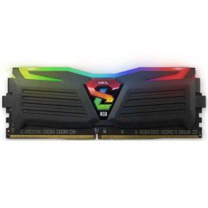 رم کامپیوتر ژل سری Super Luce RGB با حافظه ۸ گیگابایت و فرکانس ۲۴۰۰ مگاهرتز