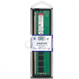 رم کینگستون مدل کی وی آر با حافظه 8 گیگابایت و فرکانس 2666