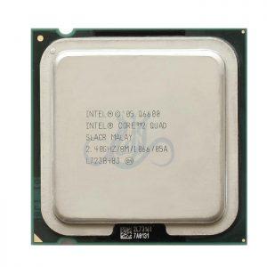 سی پی یو اینتل Q6600 Core 2 Quad