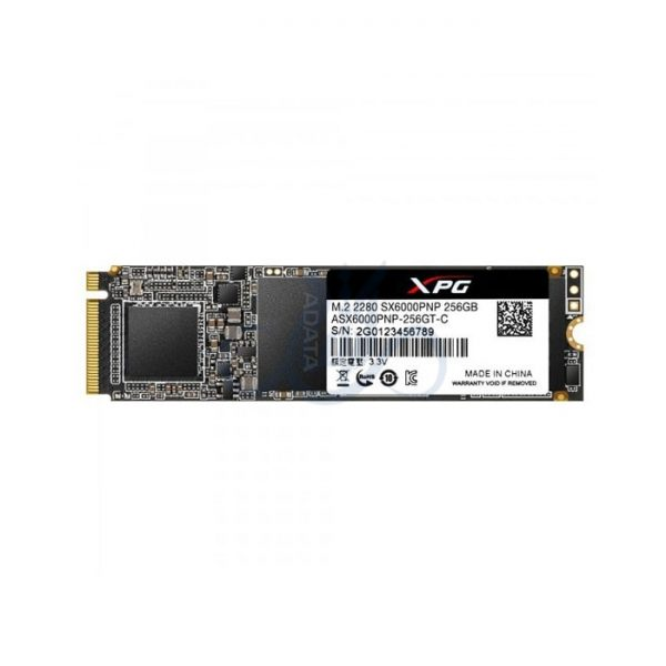 حافظه اس اس دی ای دیتا SX6000 Pro 256GB M.2