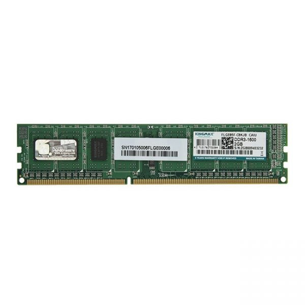 رم کامپیوتر کینگ مکس 2GB DDR3 1600