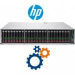پیکربندی سرور HP