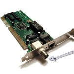 تعمیر کارت شبکه سرور