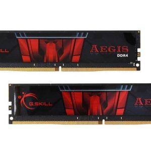 رم کامپیوتر جی اسکیل AEGIS 16GB DDR4 3200MHz Dual