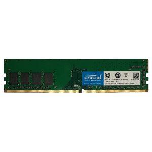رم کامپیوتر کروشیال 4GB DDR4 2400MHz