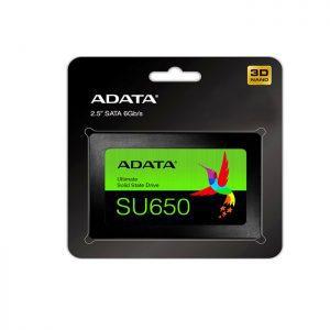 حافظه اس اس دی ای دیتا Ultimate SU650 480GB