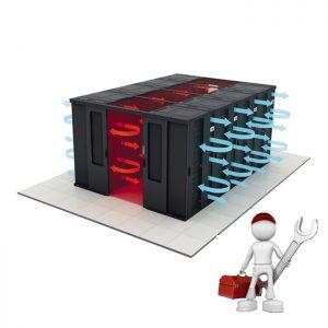 راه اندازی سیستم های برودتی اتاق سرور