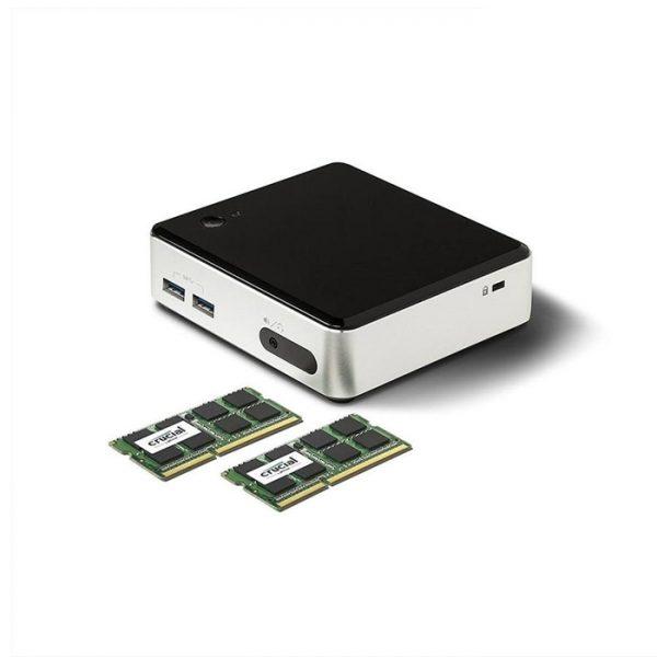 رم کامپیوتر کروشیال 8GB DDR3L 1600MHz UDIMM