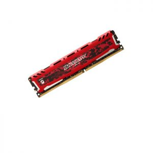 رم کامپیوتر کروشیال Ballistix Sport LT Red 4GB DDR4