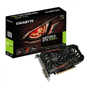 کارت گرافیک گیگابایت GeForce GTX 1050 Ti OC 4G 4GB
