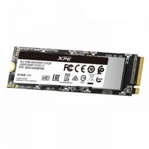 حافظه اس اس دی ای دیتا SX8100 512GB M.2