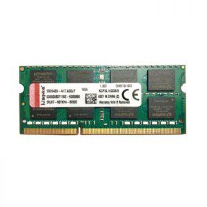 رم لپ تاپ کینگستون Notebook Ram 8GB PC3L-12800