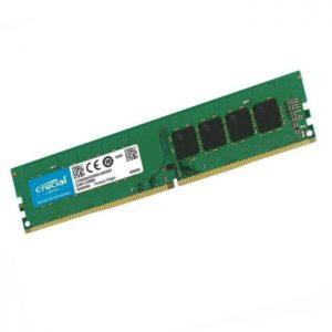 رم کامپیوتر کروشیال DDR4 4GB 2666MHz CL19 UDIMM
