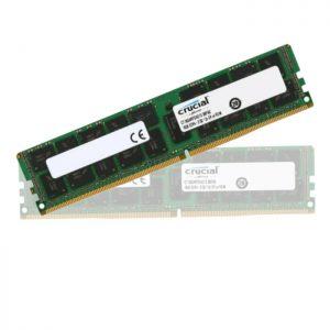 رم کامپیوتر کروشیال PC4 17000 DDR4 16GB 2133MHz CL15 Single