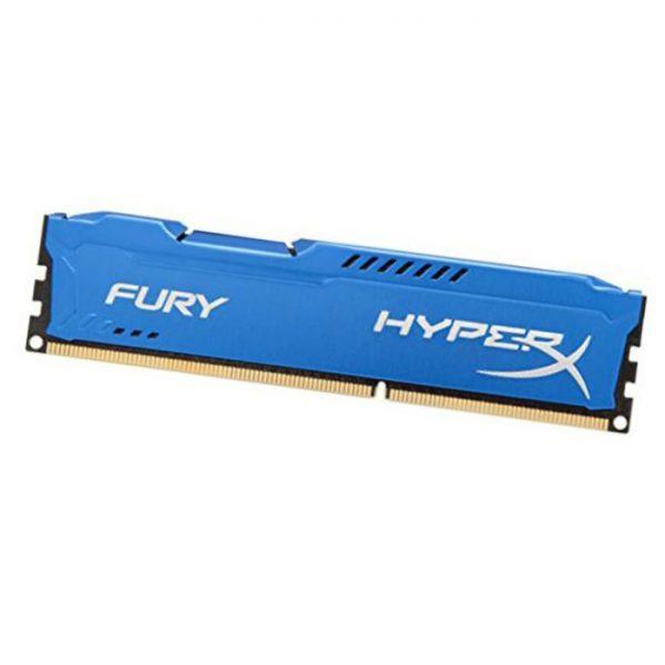 رم کامپیوتر کینگستون HyperX Fury 8GB DDR3 1600MHz CL10 Single