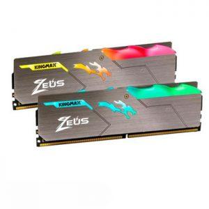 رم کامپیوتر کینگ مکس Zeus Dragon DDR4 16GB 3200Mhz CL17 Single