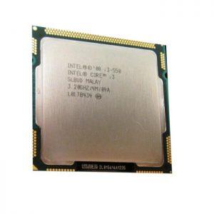 سی پی یو اینتل Core i3-550 3.2GHz LGA 1156 Clarkdale