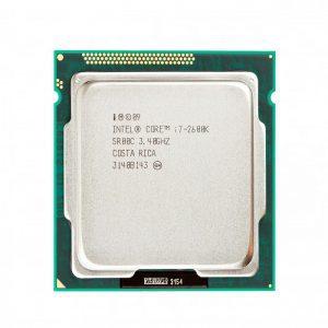 سی پی یو اینتل Core i7 2600K